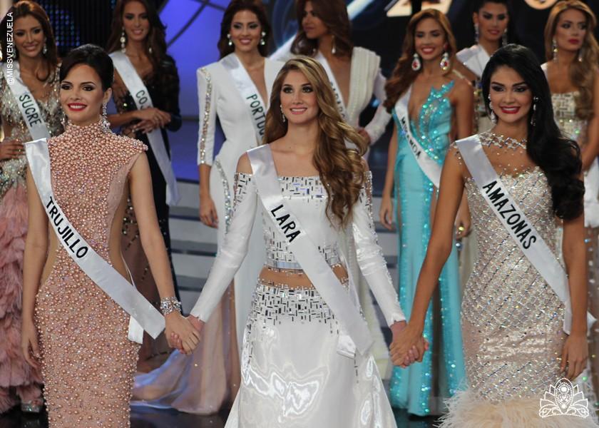 Miss Venezuela 2015 Top 3