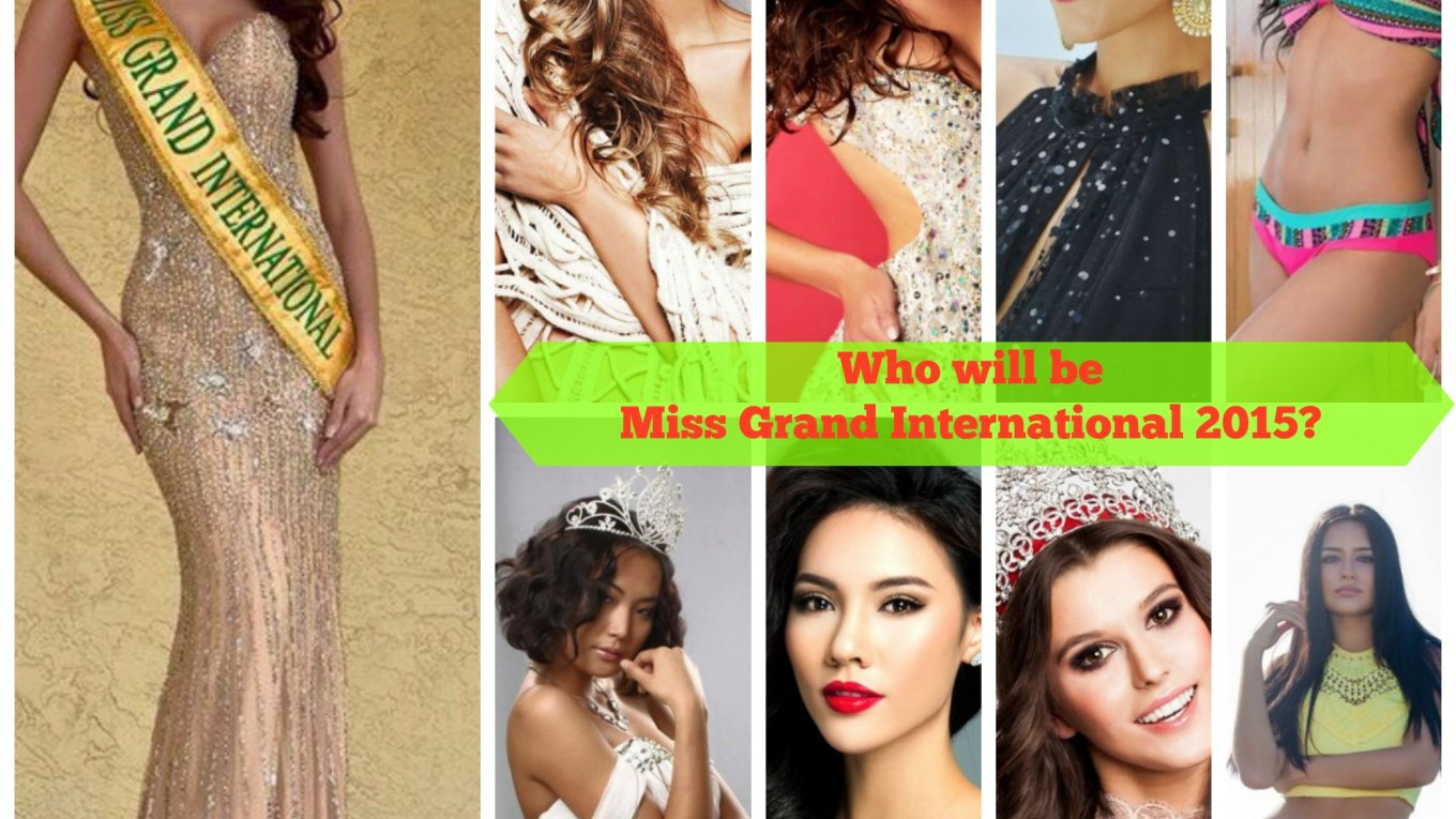 Miss Grand International 2015 Hotpicks