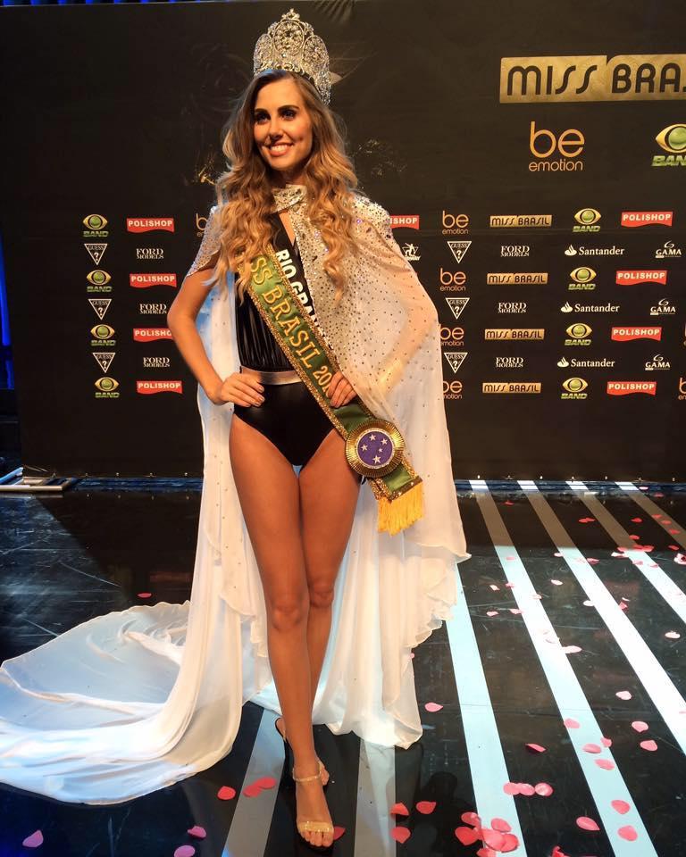 Marthina Brandt is Miss Brazil Universe 2015