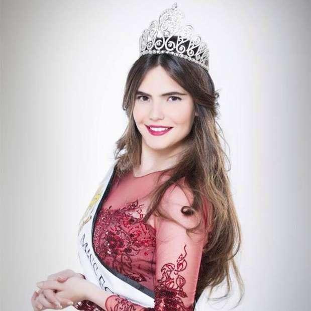 Lara Debbane is Miss World Egypt 2015