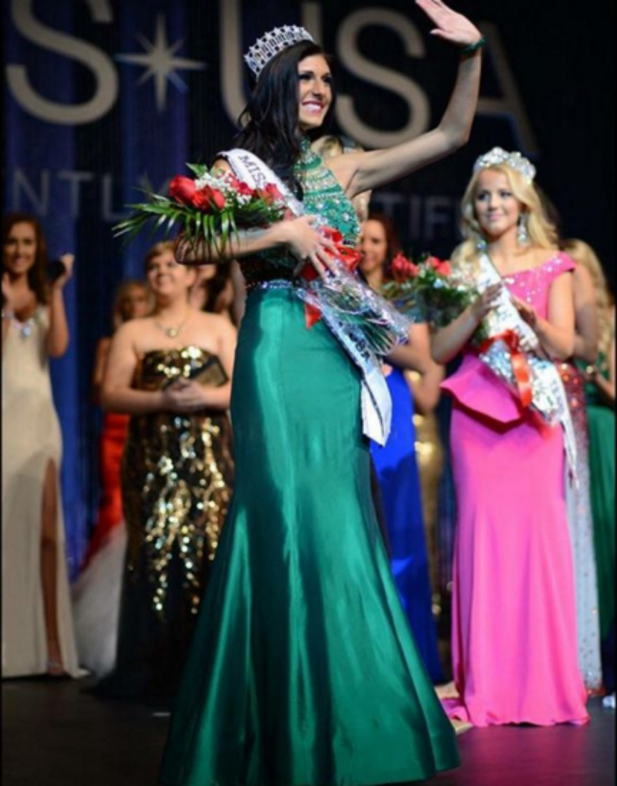 Halley Maas Will represent North Dakota at Miss USA 2016