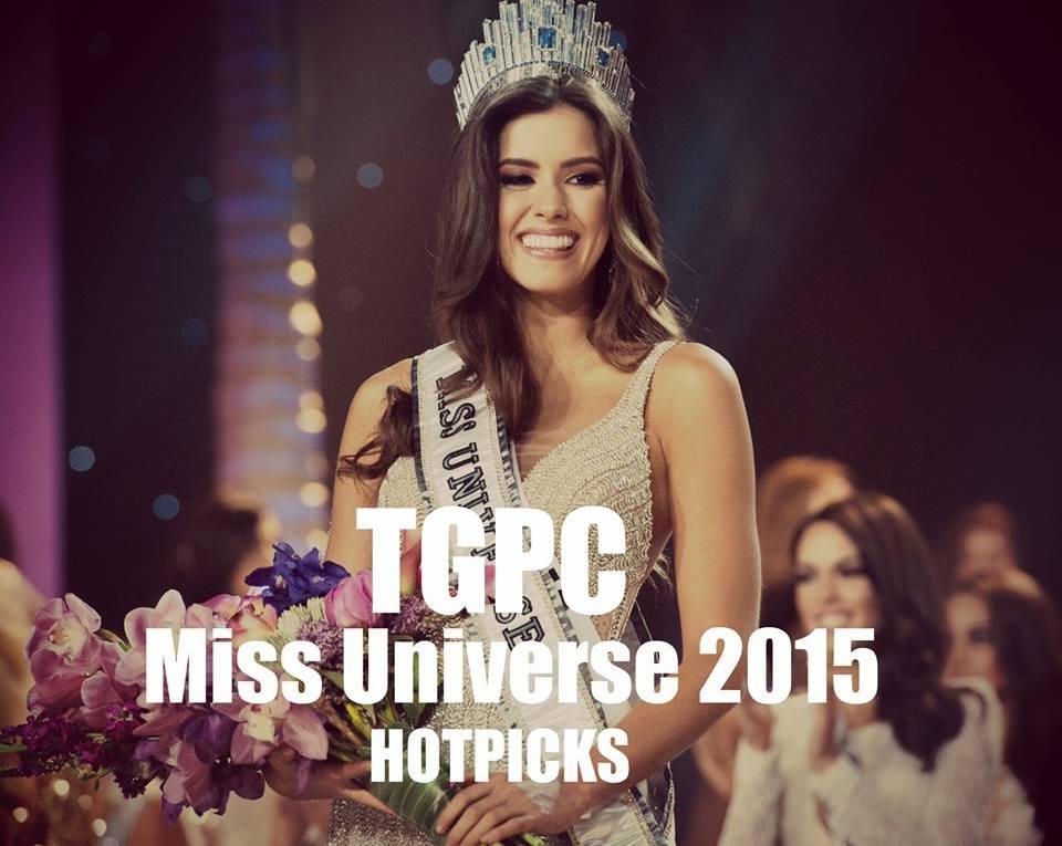 Miss Universe 2015 Hotpicks