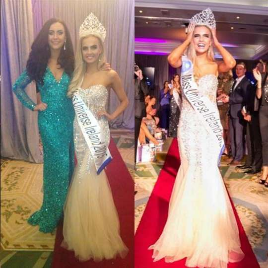Joanna Cooper is Miss Universe Ireland 2015