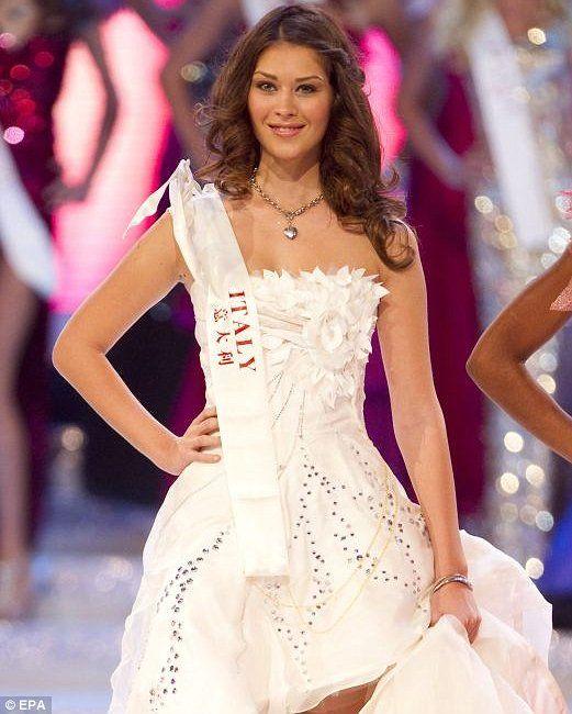 Gaida Pezzaioli is Miss Universe Italy 2015