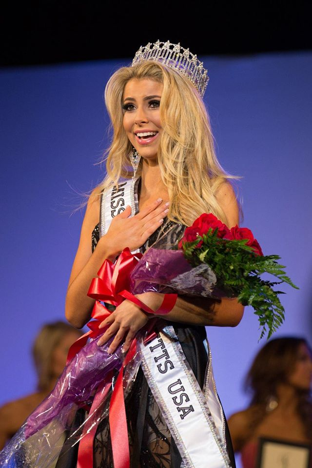 Whitney Sharpe will represent Massachusetts at Miss USA 2016