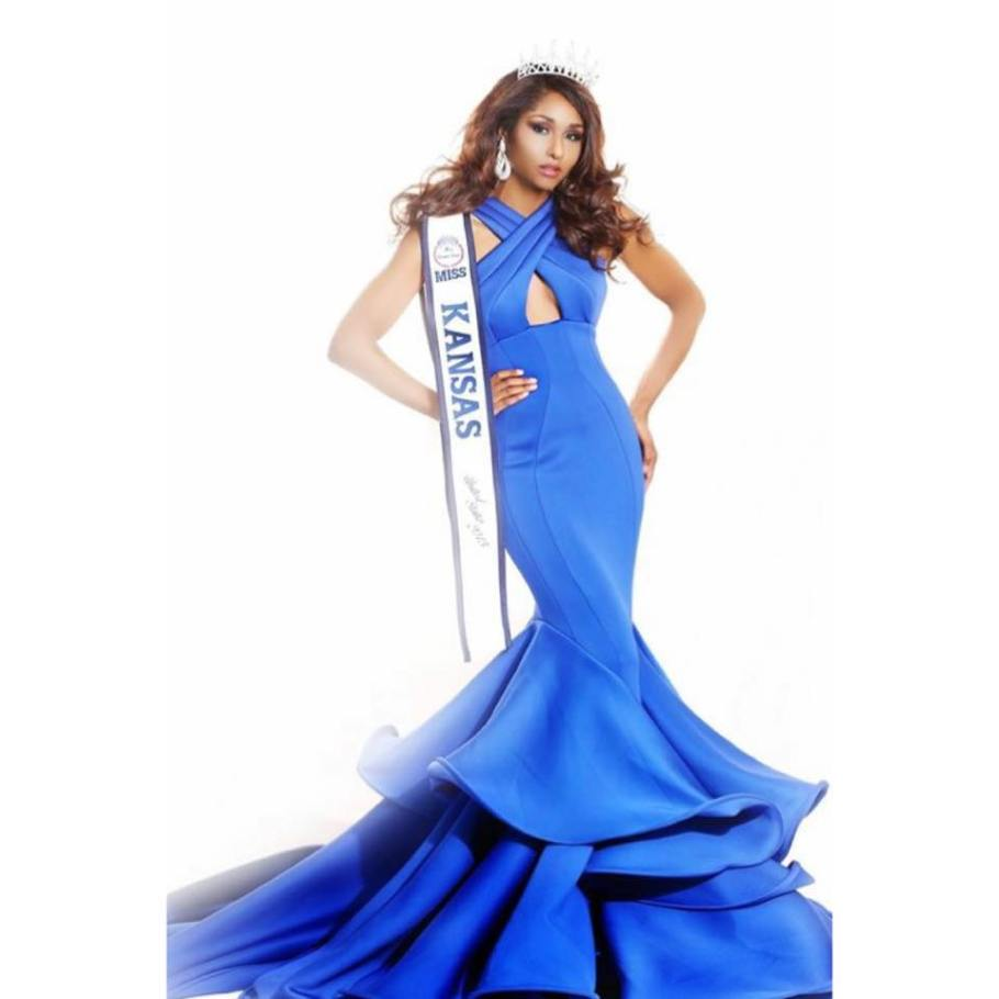 Victoria Wiggins will represent Kansas at Miss USA 2016 pageant