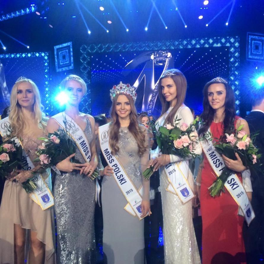 Magdalena Bieńkowska wins Miss Polski 2015 pageant