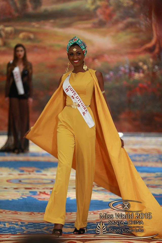 Miss World 2015 Fashion Designer Award