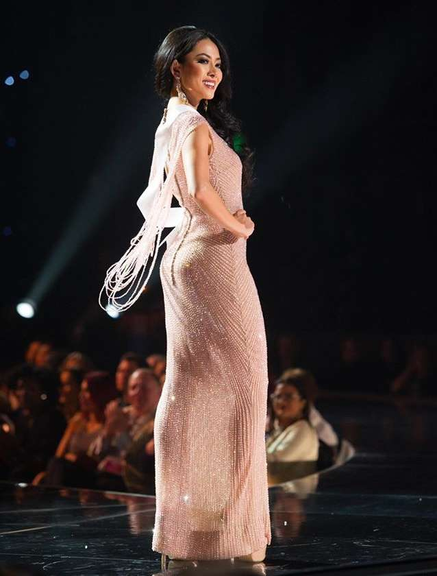Miss Universe 2015 Preliminary Evening Gown
