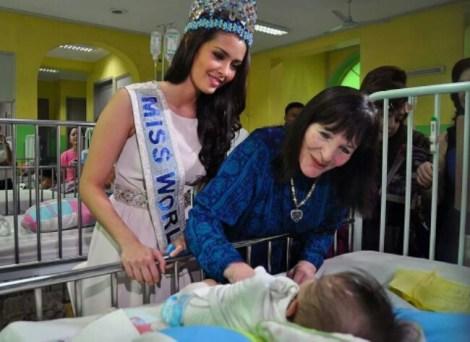 Julia Morley, CEO Miss World
