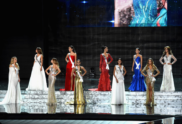 Miss Universe 2015 Evening Gown