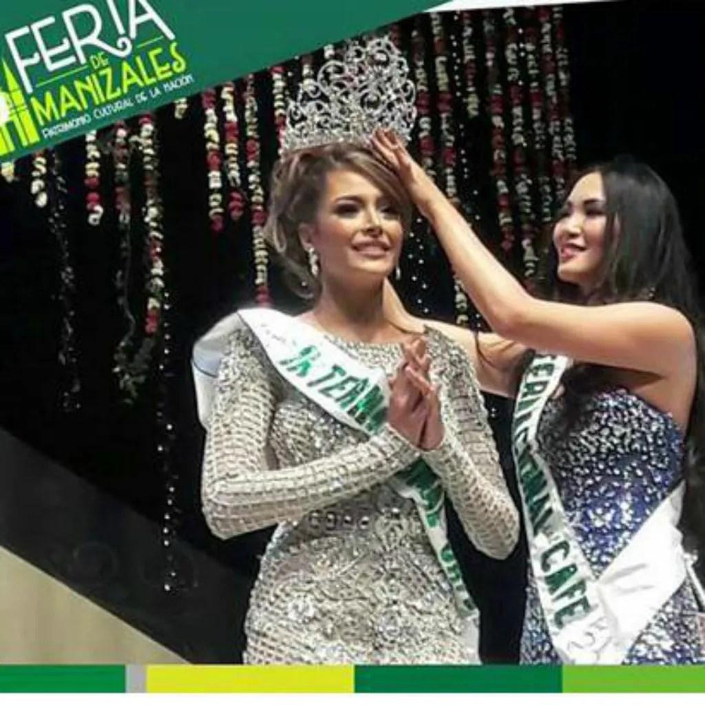 Miss Venezuela - Maydeliana Díaz was crowned as Reinado Internacional del Café 2016