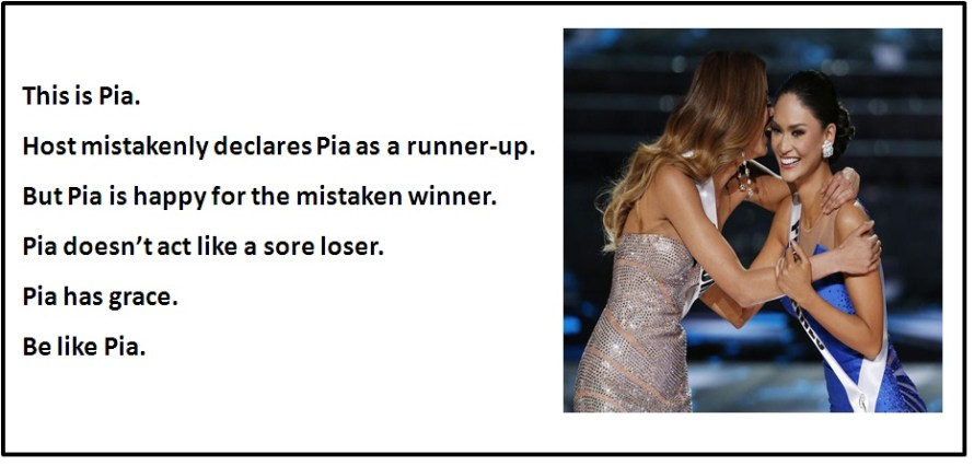 Be Like Pia