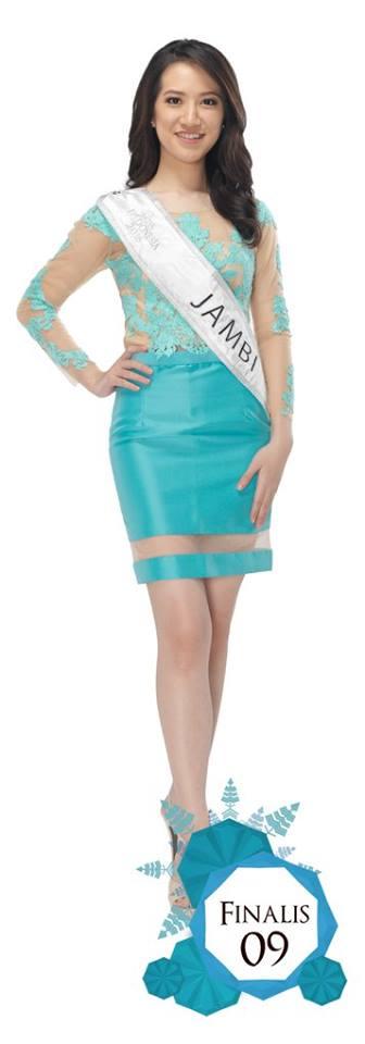 Nita Naomi is representing JAMBI at Miss Indonesia 2016
