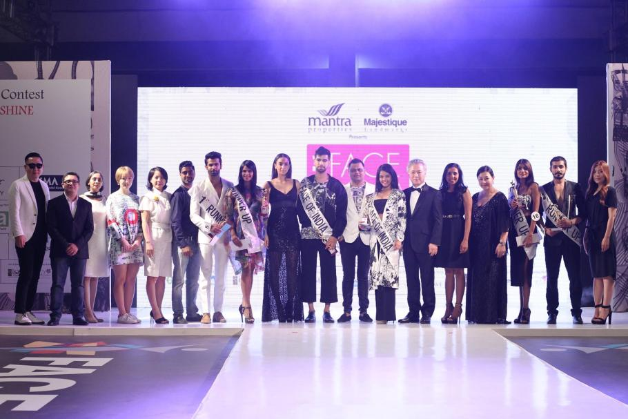 Face of India 2016 winners  with the jury