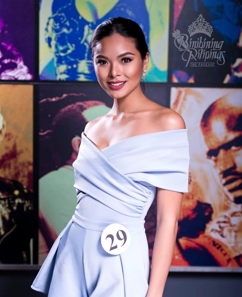 Binibini 29- MARIA MIKA MAXINE MEDINA during Binibining Pilipinas 2016 Official Shots