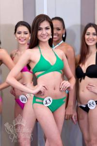 Edjelyn Gamboa is a contestant of Binibining Pilipinas 2016