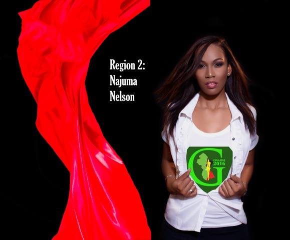 Najuma Nelson  is a contestant of Miss World Guyana 2016