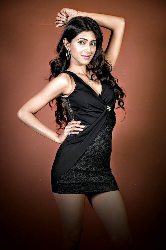 Vidushree is a contestant at Femina Miss India Delhi 2016