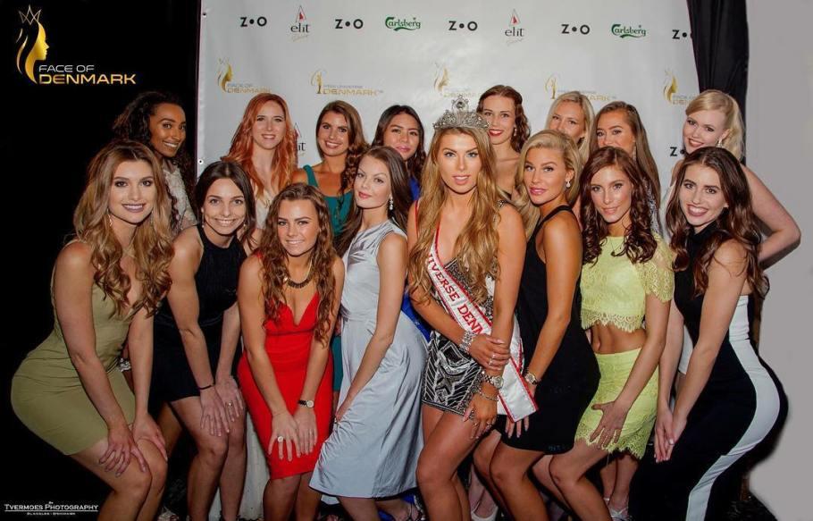 Face of Denmark 2016 winner will represent Denmark at Miss Universe 2016