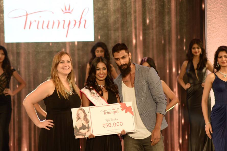 Rajkanya Baruah won Triumph Miss Perfect Body - at Femina Miss India 2016 Sub Contest