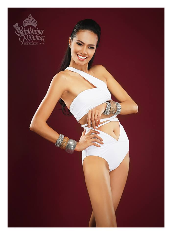 Binibini #18 SHEENA B. DALO during Binibining Pilipinas 2016 Swimsuit portraits