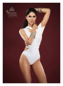 Binibini #25 ANJELLICA LOPEZ during Binibining Pilipinas 2016 Swimsuit portraits