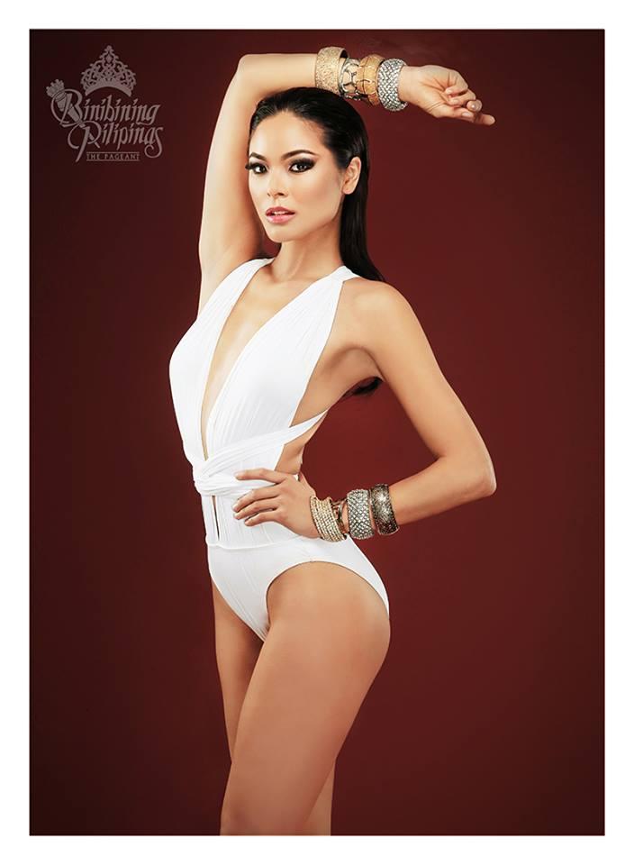 Binibini #29 MARIA MIKA MAXINE MEDINA during Binibining Pilipinas 2016 Swimsuit portraits