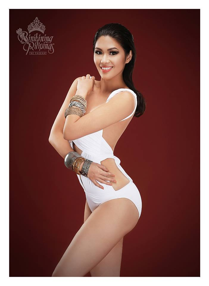 Binibini#3 -ANGELA LAUREN D. FERNANDO during Binibining Pilipinas 2016 Swimsuit portraits