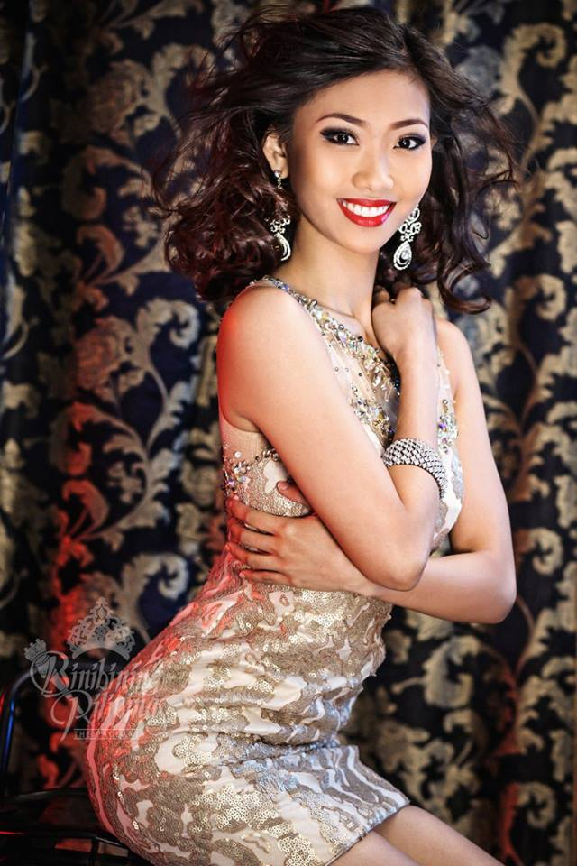 Binibini #30-CRESCENT ANNE SAMACO during Binibining Pilipinas 2016 Glam Shots