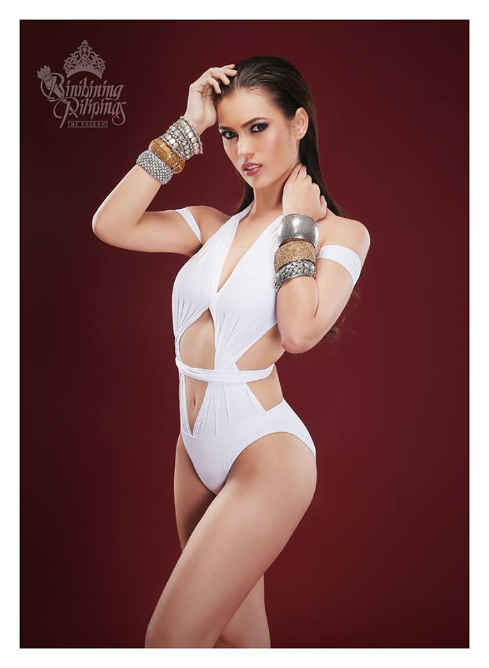 Binibini #38 ANGELICA R. ALITA during Binibining Pilipinas 2016 Swimsuit portraits