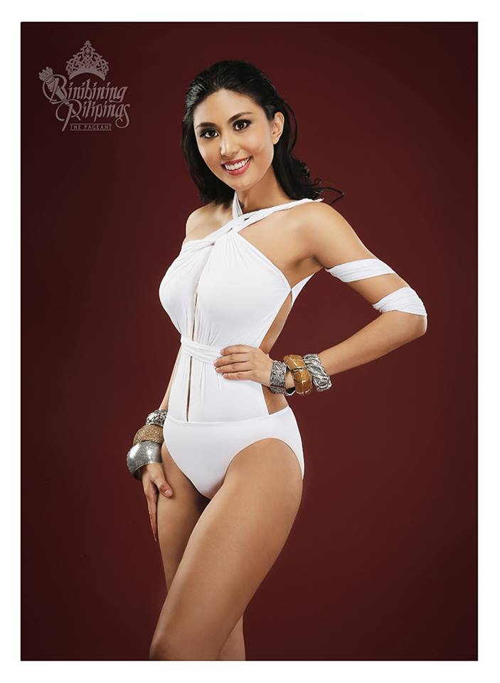 Binibini #40 CHRISTIANNE RAMOS during Binibining Pilipinas 2016 Swimsuit portraits
