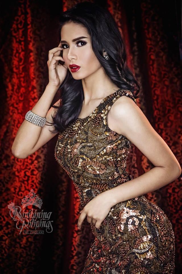 Binibini #5-RIANA AGATHA L. PANGINDIAN during Binibining Pilipinas 2016 Glam Shots