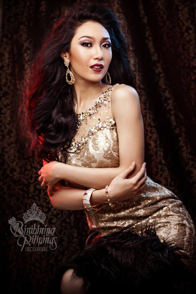 Binibini #8-KAREN IBASCO during Binibining Pilipinas 2016 Glam Shots