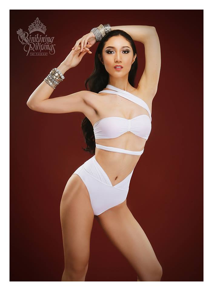 Binibini #8 KAREN IBASCO during Binibining Pilipinas 2016 Swimsuit portraits