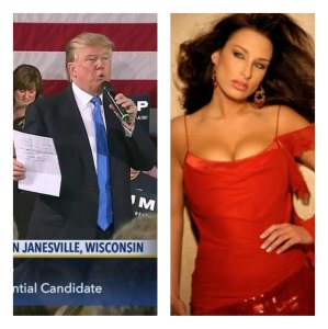 Melissa Young, dying Ex-Miss Wisconsin, personally thanks Donald Trump.