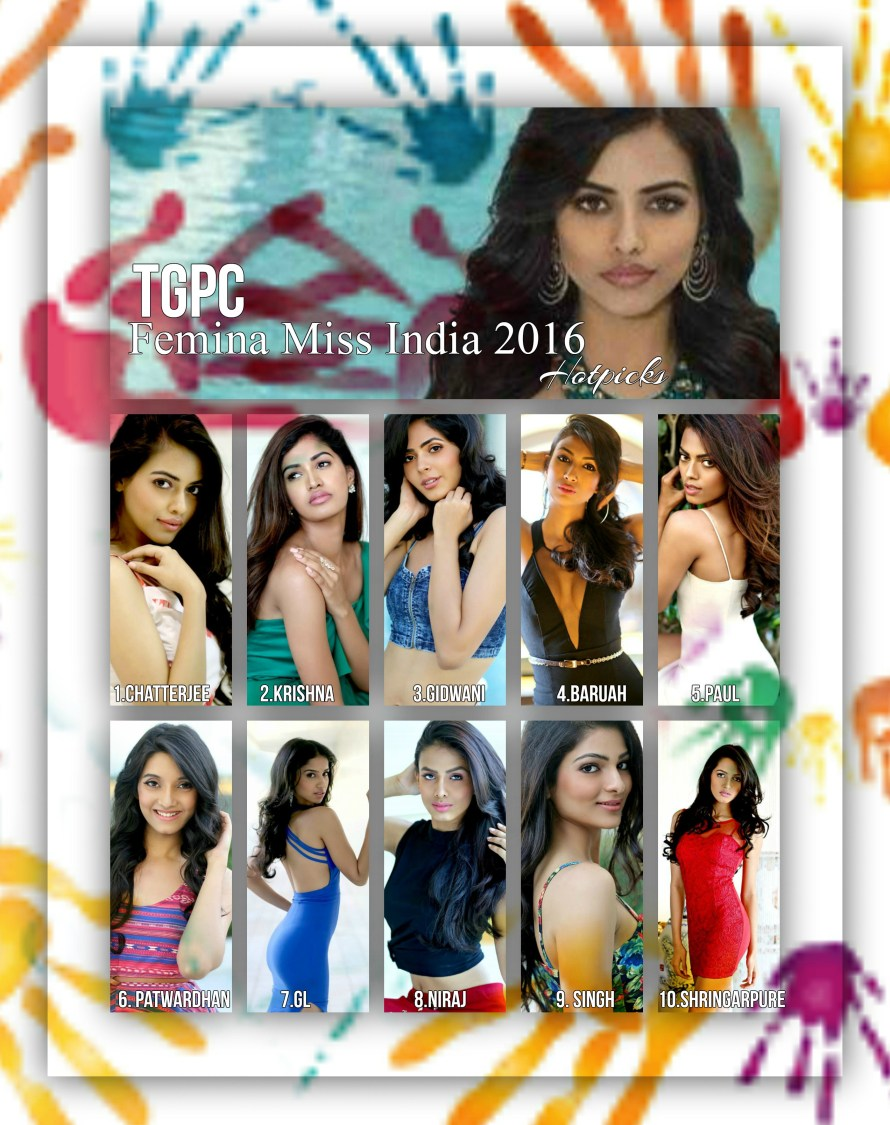 Femina Miss India 2016 hotpicks
