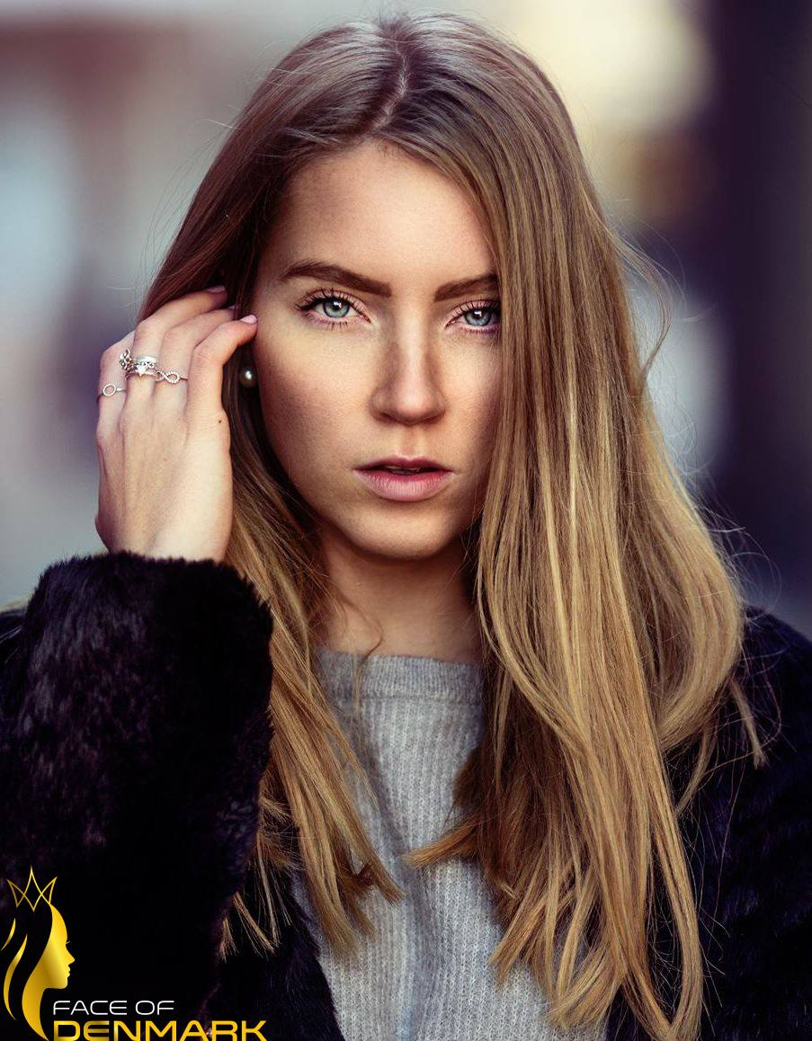 Miss Universe Aarhus-Ane Sofie Hoff-Lund is a contestant of Face of Denmark 2016