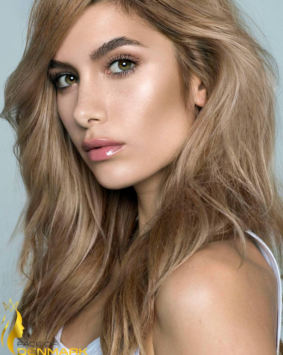 Miss Universe Roskilde-Alexandria Eissinger is a contestant of Face of Denmark 2016