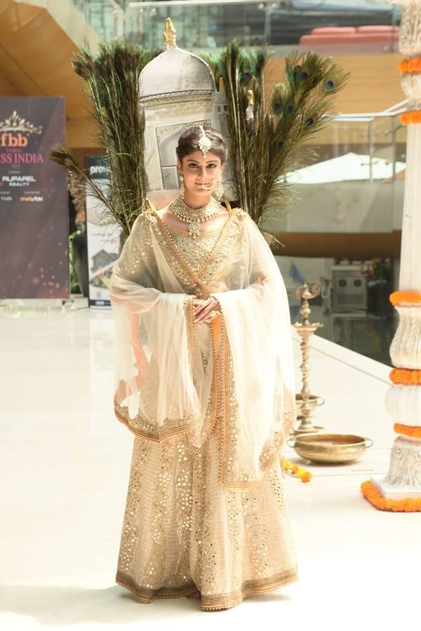 Niharika Anand in National Costume