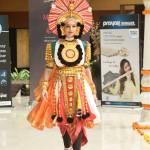 Roshmitha Harimurthy in National Costume