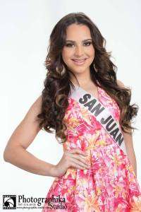 San Juan is a contestant of Miss Mundo de Puerto Rico 2016
