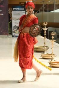 Sanjana GL in National Costume