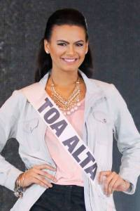 Toa Alta is a contestant of Miss Mundo de Puerto Rico 2016