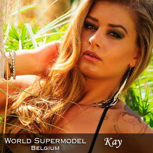 World Supermodel Belgium - Kay is a contestant at World Supermodel 2016