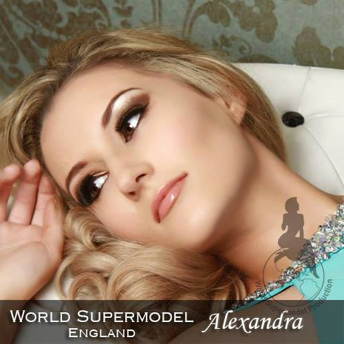 World Supermodel England - Alexandra is a contestant at World Supermodel 2016