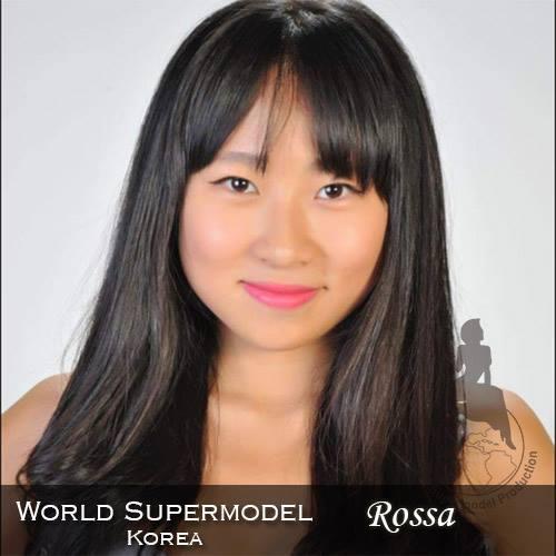 World Supermodel Korea - Rossa is a contestant at World Supermodel 2016