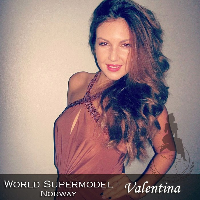 World Supermodel Norway- Valentina is a contestant at World Supermodel 2016