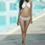 Zeba Baig in Swimsuit