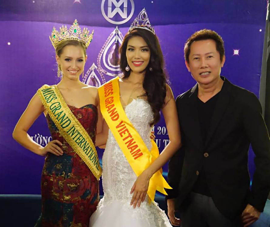 Former Miss World Vietnam rần Ngọc Lan Khuê was crowned as Miss Grand Vietnam 2016 she will represent Vietnam at Miss Grand International 2016 pageant
